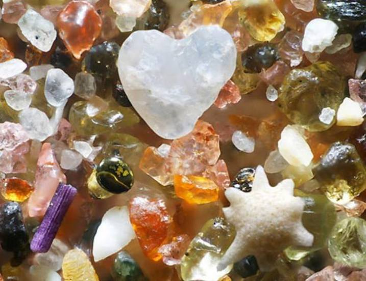 Gems In Sand
